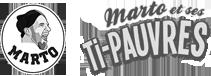 Logo Marto et ses Ti-Pauvres
